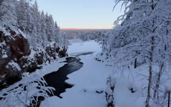 snow,winter,river,the,речка