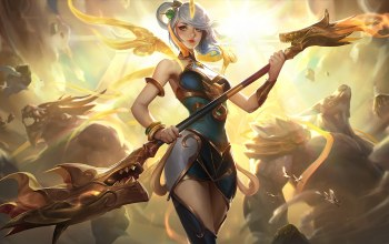 Лига Легенд,artwork,Lux,люкс,Lunar Empress,splash,league of legends
