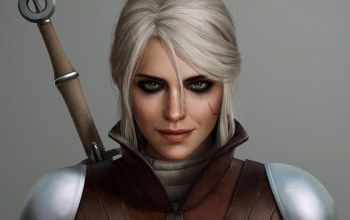ведьмачка,Zireael,ведьмак,шрам,ciri,the witcher 3 wild hunt