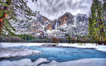 winter,park,Yosemite