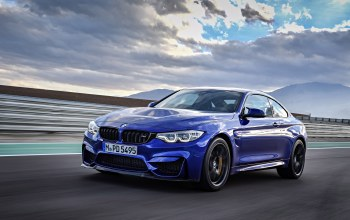 sky,Speed,cloud,blue,kumo,Bmw,BMW M4 CS,car,asphalt