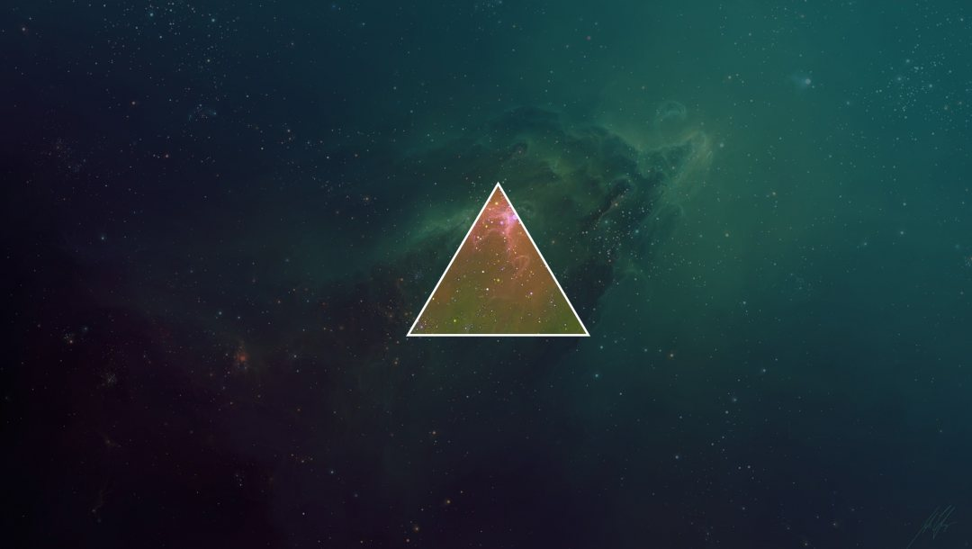space,background,triangle,Abstract