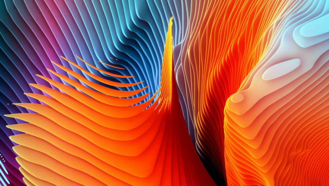 Abstract,waves,spiral