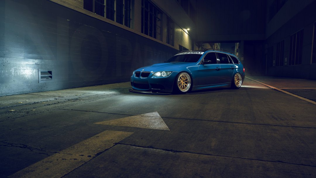 e91,Bmw,stance,Rotifrom,blue