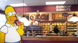 Donuts,dunkin,simpsons