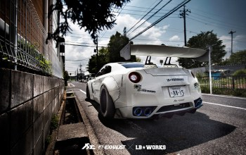 улица,liberty walk,Fi Exhaust,r35,тюнинг