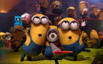 minions,dancing,singing