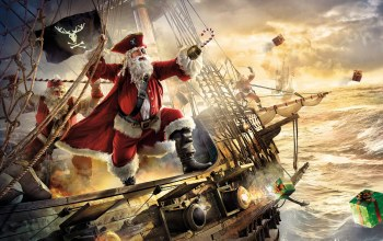 claus,Santa,pirate