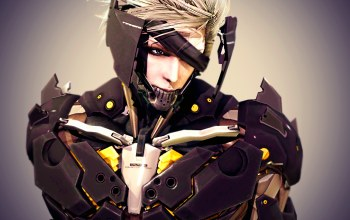 киборг,raiden,metal gear rising: revengeance