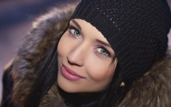 Hat,Face,шапка,girl