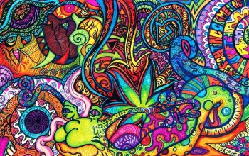Psychedelic,colorful