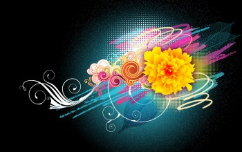 1080p,designs,vector,flower