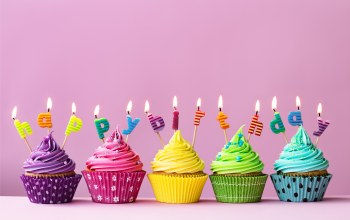 день рождения,celebration,decoration,Cupcake,colorful,candle,happy birthday,cake,торт