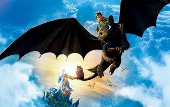 hiccup,toothless,riding