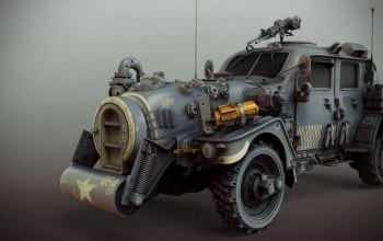 sci-fi ww2 allied standard car,Matthias Develtere