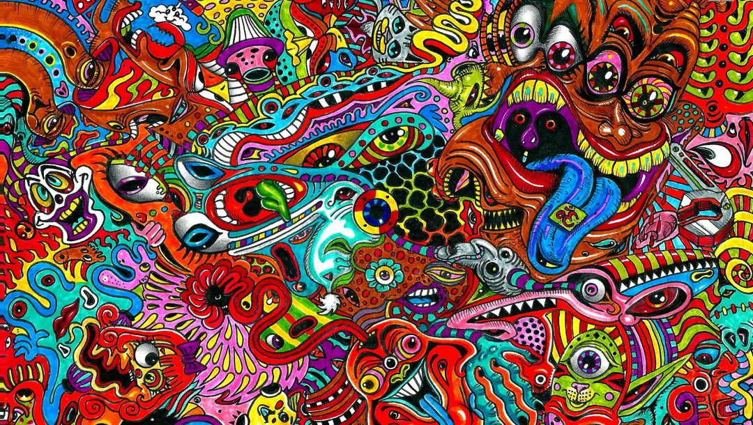 colorful,Psychedelic,artistic