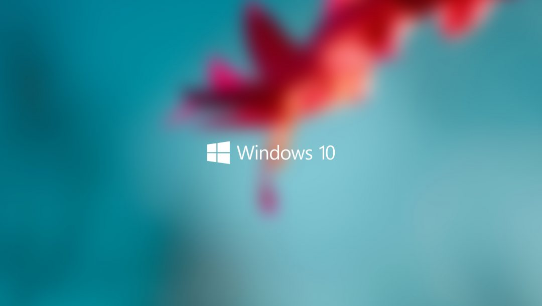 блюр,Windows 10