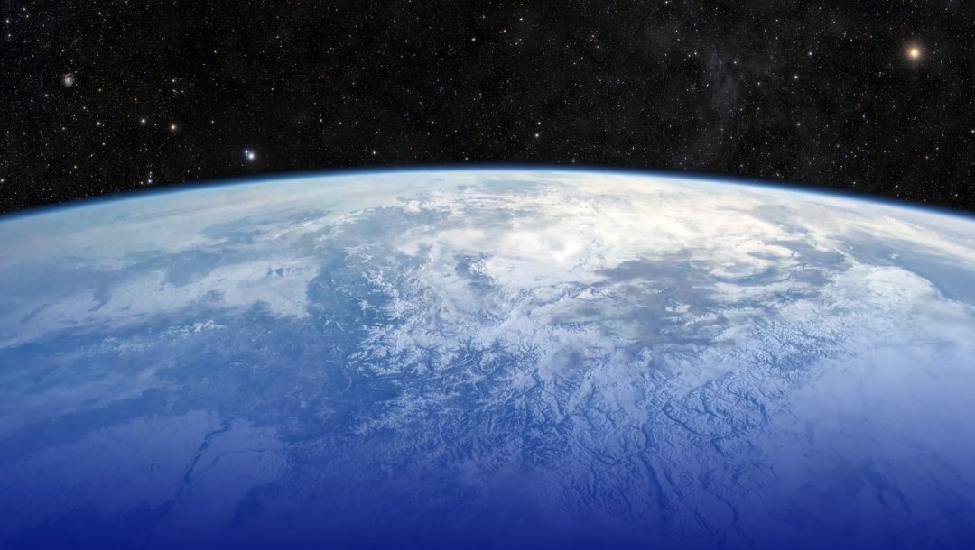 earth,space,from,mountains