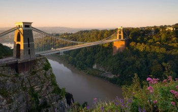 clifton,england,suspension,bridge