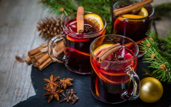 punch,xmas,christmas,tea,orange,decoration,рождество,cookies,merry christmas,Глинтвейн,wine