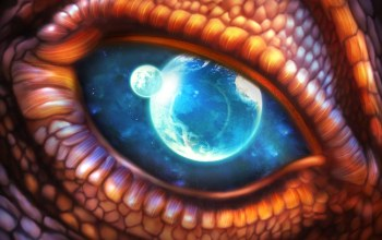 dragon,eye
