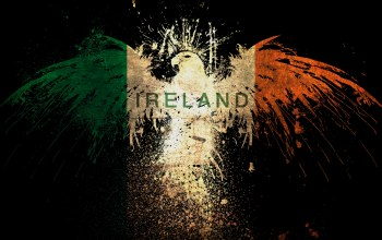 ireland,flag,irish,eagle