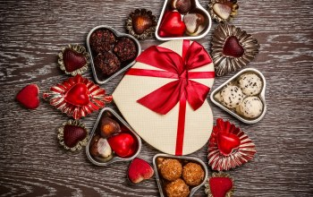 chocolate,gift,Valentine`s day,sweet,конфеты