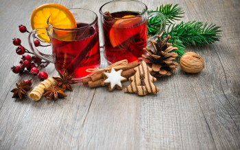 decoration,tea,punch,wine,orange,Глинтвейн,рождество,cookies,merry christmas