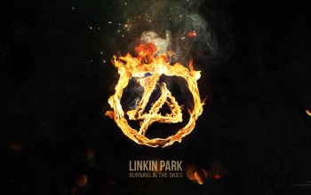 park,skies,burning,linkin