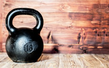 Kettlebell,crossfit,wall,gym