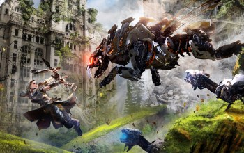 guerrilla games,sony computer entertainment,лук,охотник,playstation 4