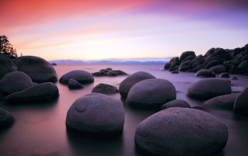beach,Sunset,beautiful,rocks