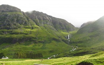 storm.,a,scotland,glencoe,after,thunder