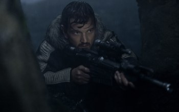 rifle,gun,weapon,movie,sniper,Captain Cassian Andor,film,captain,cinema,Rogue One,taichou,Rogue One: A Star Wars Story