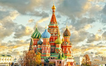 russia,basil,cathedral,st