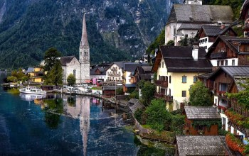 austria,hallstatt,beautiful