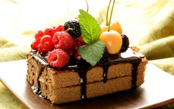 fruit,cake,chocolate