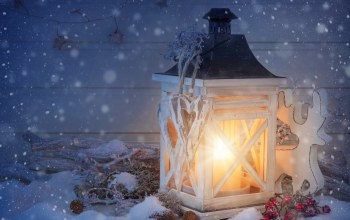 рождество,candle,lantern,christmas,snow