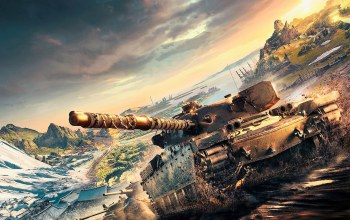 Key Art 2017,Playstation and Xbox Europe,World of tanks