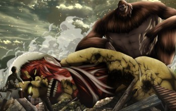 attack on titan,by narutorenegado01,asiatic,titan bestial,season 2,giant,manga,japanse,titan colossal,armored titan,big,asian,shingeki no kyojin