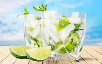 beach,paradise,Mojito,коктейль,cocktail,vacation,summer,drink,мохито,tropical,lime,mint