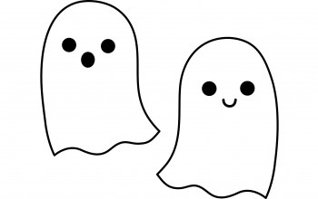 halloweens,ghosts,White