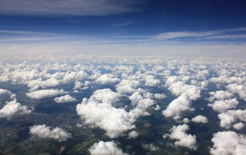 view,clouds,Above,Aerial