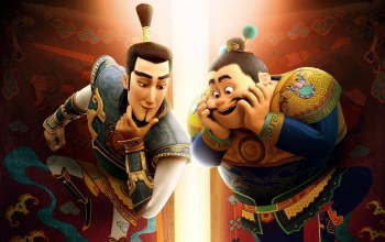 guardian,asiatic,Yu Lei,brothers,Dan Fogler,animated movie animated film,The Guardian Brothers,Edward norton,chinese,Xiao Men Shen,armor,asian,Shen Tu