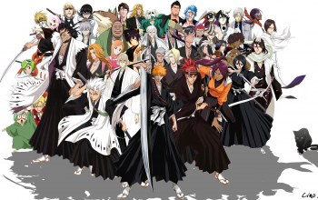 characters,bleach,All