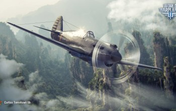 World of warplanes,истребитель,curtiss p-40,wowp,wargaming,Tomahawk IIb