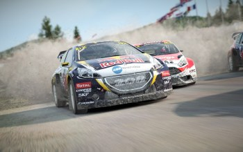game,fast,Dirt 4,Race,car,dirt,redbull,Speed