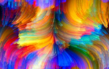 bright,Abstract,curves,Color