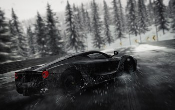Race,snow,game,supercar,stallion,The crew,The Crew Online,horse,asphalt,car,Speed