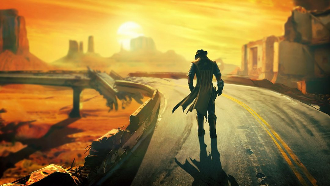 fallout,Road,new,vegas,lonesome